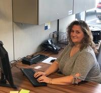 Barbara Hawley at work at PEI-Genesis