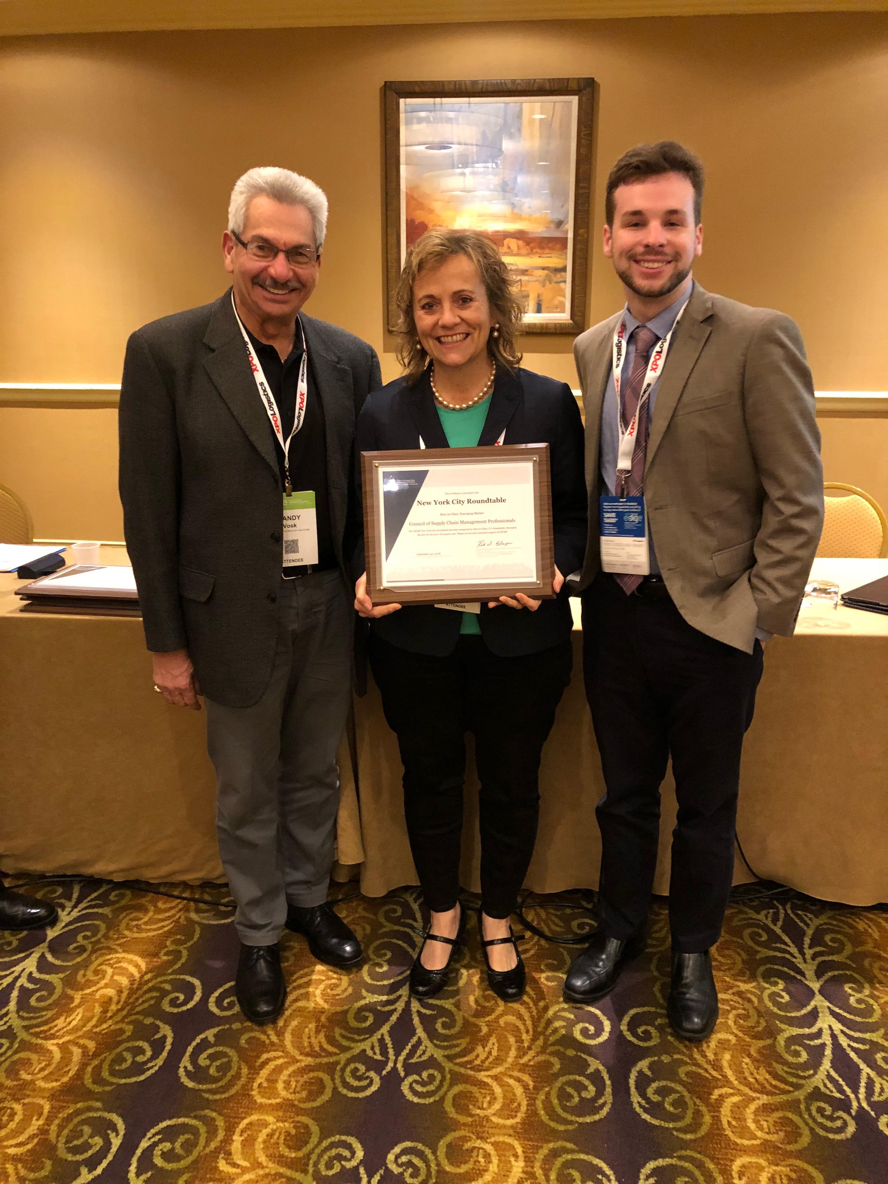 Suzanne Richer CSCMP EDGE Award