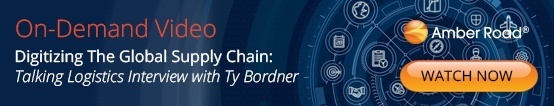 Digitizing The Global Supply Chain: Talking Logistics Interview with Ty Bordner of Amber Road