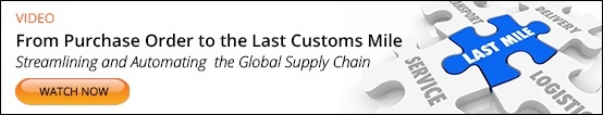 From Purchase Order to Last Customs Mile