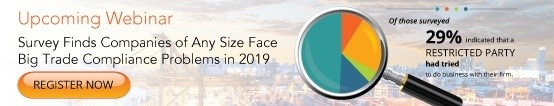 Survey Finds Companies of Any Size Face Big Trade Compliance Problems in 2019